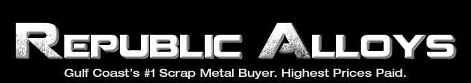 where to sell scrap metal near me in houston texas, republic alloys